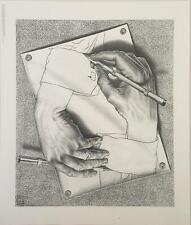 M.C. Escher Drawing Hands Poster 22 x 28