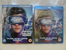 Ready Player One 3D [2018] (Blu-ray 3D + 2D)~~~~~~SLIPCOVER~~~~~~NEW & SEALED