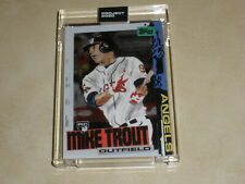 MIKE TROUT TOPPS PROJECT 2020  2011 TOPPS UPDATE ROOKIE RC BY JACOB ROCHESTER