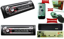 Autoradio FM,slot USB,AUX,CD, frontalino estraibile + cover. Mp3,WMA,52W x 4 ch