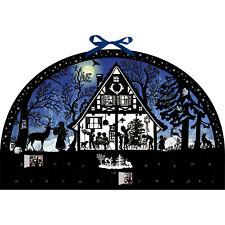 Moonlight Silhouette Advent Calendar