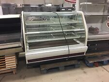 Used Columbus Show Case Open Dry (Non Refrigerated) Cured Glass Display Case