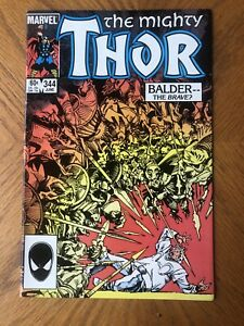 Thor #344 (1984) NM KEY 1st Appearance of Malekith the Accursed High Grade