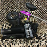 NEW Azodin Blitz 3 EPIC Paintball Marker Gun Package Kit - Purple/Silver