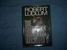 THE BOURNE IDENTITY by Robert Ludlum/1st Ed/HCDJ/Literature/Thriller