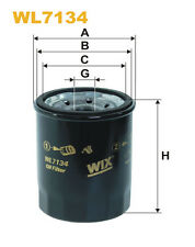 WIX WL7134 Car Oil Filter - Spin-On Replaces W6103 PH5317 AW207