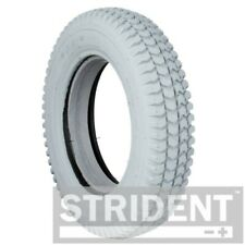 1 x Grey Solid 300 x 8 Block Tread Mobility Scooter Tyre (3.00-8)   36mm Rim  