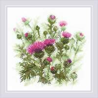 Counted Cross Stitch Kit RIOLIS - Thistle