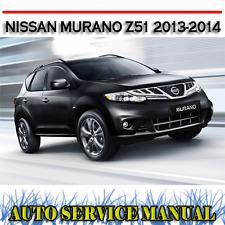 nissan murano full service repair manual 2013