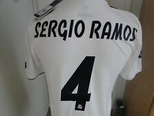 ** SERGIO RAMOS **REAL MADRID CL CLIMACHILL MATCH HOME SHIRT 2018-19 BNWT MEDIUM