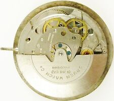 Gruen N710CA Automatic - Complete Running Watch Movement - Sold for Parts