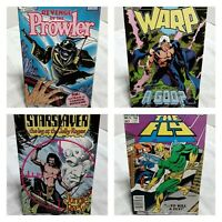 Prowler Starslayer Warp Fly Comic Book Lot of 4 Issues