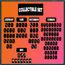 MM2 - COLLECTIBLE SET VERY RARE ITEMS (100+ ITEMS) CHEAP AND FAST DELIVERY