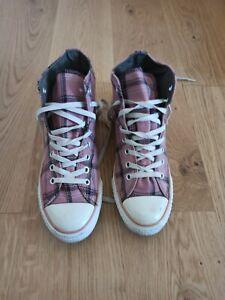 Converse All Star Chucks Eu 42 Uk 8,5 Limited Edition Grunge Kariert 105806 Rosa