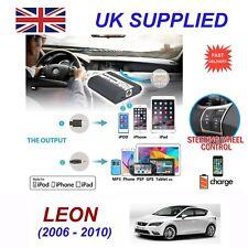 pour Seat Leon iPhone 5 6 7 8 SE 10 MP3 haut-parleur digital audio changeur CD