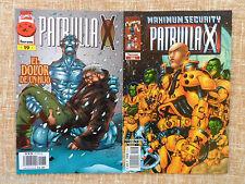 Comics, La Patrulla X, nº 19 (1997) y nº 66 (2001), vol. II, DeAgostini, Lobdell