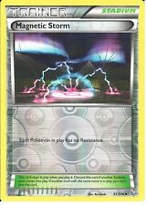 POKEMON XY FLASHFIRE - TRAINER - MAGNETIC STORM 91/106 REV HOLO