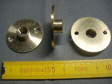 1 raccord plaque en laiton diamètre 40 mm sortie femelle pas de 10 mm x 1 mm