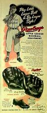 1955 Mantle~Musial Yankees~Cardinals Rawlings Baseball Gloves~Uniforms~Shoes AD