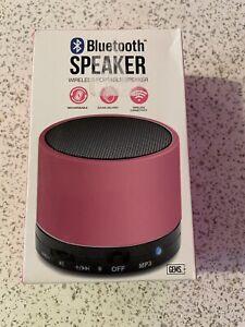GEMS - Bluetooth Wireless Speaker (Pink) [Brand New]