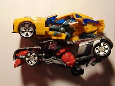Transformers Robots Cars Toys Incomplete Lot
