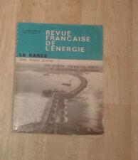 Revue Française de l'Energie. N° 183. 1966. La Rance. Français-anglais.