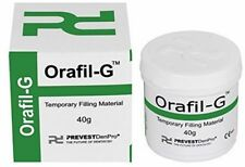 Prevest DenPro Orafil G Dental Products Temporary Teeth Filling material 40 gm