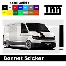 Bonnet Adhesivo para Volkswagen VW Crafter MWB gráficos rayas calcomanías camper van