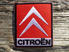 A048 ECUSSON PATCH THERMOCOLLANT aufnaher toppa CITROEN 2cv ds rallye traction