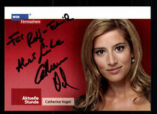 Catherina Vogel WDR Autogrammkarte Original Signiert # BC 45014