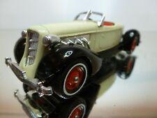MATCHBOX AUBURN 851 SUPERCHARGED SPEEDSTER 1935 - CREAM+BLACK 1:43 -EXCELLENT -6