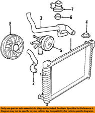 FORD OEM-Radiator Cooling Fan Motor YF1Z8C607BD