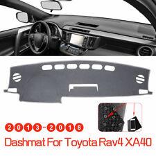Smoky Gray Dashmat for TOYOTA RAV4 2013-2018 Dashboard Mat Cover Noslip Sunblock