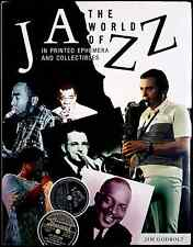Jim Godbolt, The world of Jazz in printed ephemera and collectibles, Ed. Stud...