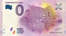 Billets Euro Schein Souvenir Touristique 2019 Gemassigte Zone
