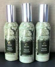 3 Fresh Balsam Concentrated Room Spray Home Fragrance Mist Bath & Body Works