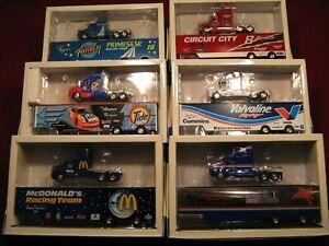 American Racing Scene 1/24th scale Nascar transporters