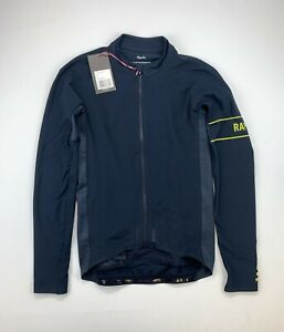 RAPHA Pro Team Long Sleeve Thermal Jersey Navy Size Small New