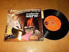 VALERIE SARN  - EP FRENCH PATHE 743 / LISTEN - TEEN JAZZ GIRL FRENCH POPCORN