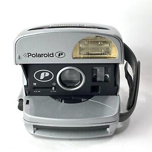 Vintage Polaroid Silver Express Instant 600 Film Camera Untested (561)