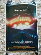 Original 1977 Nos Nip Close Encounters of the Third Kind Movie Poster - Mint
