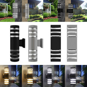 Modern 18W Dual Up Down LED Wall Light Fixtures Corridor Porch Patio Sconce Lamp