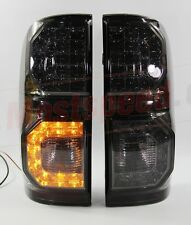 TOYOTA HILUX VIGO SR5 MK6 05-14 CHAMP MK7  REAR BLACK LED SMOKE TAIL LIGHT LAMP