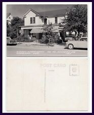 FLORIDA LAKELAND GIDEON APARTMENTS NORTH KENTUCKY AVE COOK REAL PHOTO CIRCA 1955