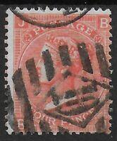 SG94.  4d.Vermilion Plate12.  FU Stamp With Bright Colour. Cat.£70.  Ref:0765