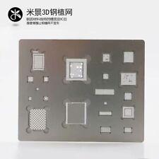 3D BGA Reballing Stencil For iPhone A8 (6/6+) A9 (6S/6S+) A10(7/7+)A11(8/8+/X)