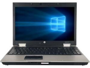 "HP EliteBook 8540p 15.6"" i5-M560 2.67GHz 4GB 500GB Win 10"