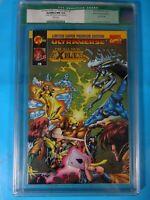 CGC Comic graded 9.4  marvel exiles vs X-men  #0 Key issue