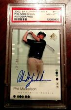 2002 Upper Deck SP Authentic Autographed RC Phil Mickelson PSA 8 425/799 ON SALE