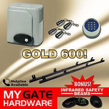 New Sliding Gate Opener 600kg Automatic Motor Remote heavy duty Kit